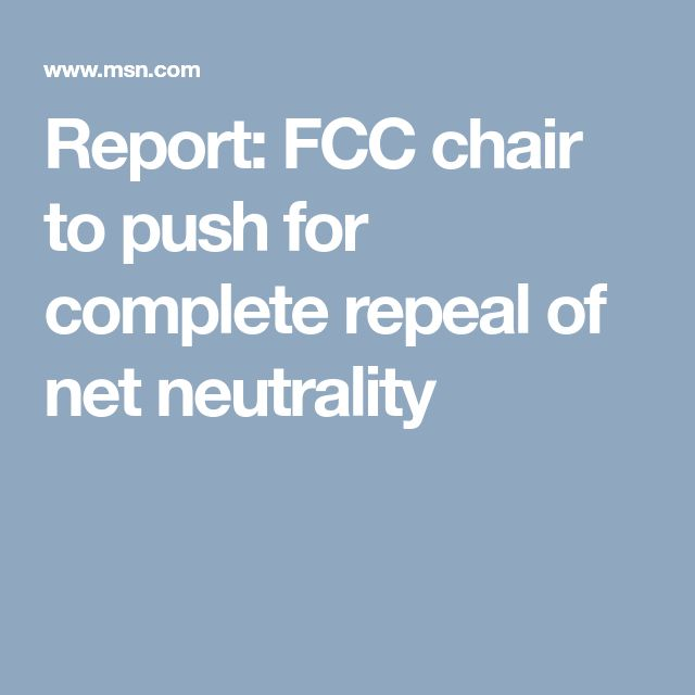 Pai and other Republicans have argued the Obama-era FCC overstepped its authority with the regulations by reclassifying the ISPs as common carriers. The FCC held a months-long open comment period on its proposal to repeal the rules after facing massive backlash after releasing its initial proposal in May.