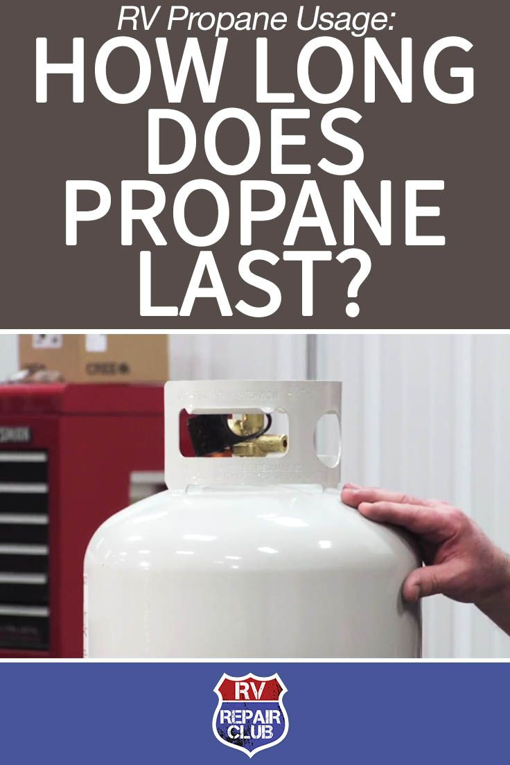 We've had a number of Repair Club members ask the best way to tell how long a tank of propane will last. The short answer is, it depends. The mileage you'll get out of your LP system on a single fill varies based on two factors: the quantity of propane on your rig and your specific RV propane usage, i.e. the number of components you operate that utilize propane and the frequency of their operation.