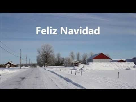 Feliz Navidad Boney M (lyrics) - YouTube