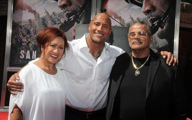 Dwayne Johnson is listed (or ranked) 2 on the list Biracial Celebrities ListDwayne Johnson's mother is of Samoan heritage, and his father, wrestler Rocky Johnson (Wayde Douglas Bowles), is of Black Nova Scotian descent