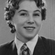 Charlotte Kaletta, the fiancé of Fritz Pfeffer (Albert Dussel) the roommate of Anne Frank while in hiding.