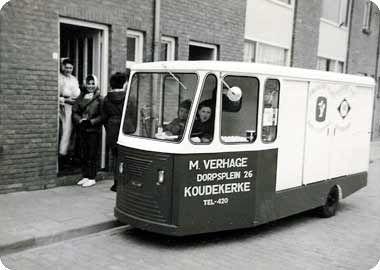 DE MELKWAGEN IN 1962