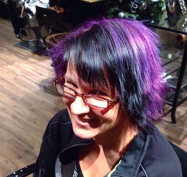 Vibrant purple by Adele!
