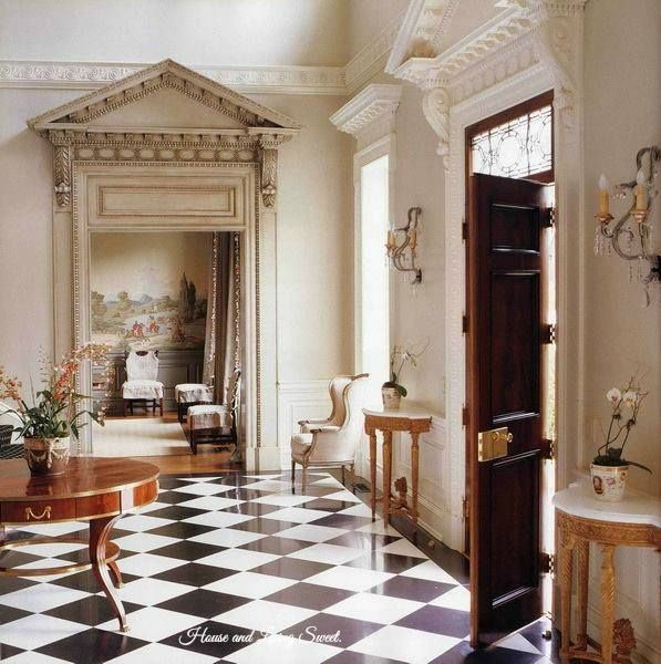 Classic Entrance Halls 10 Best: Best 25+ Black And White Marble Ideas On Pinterest