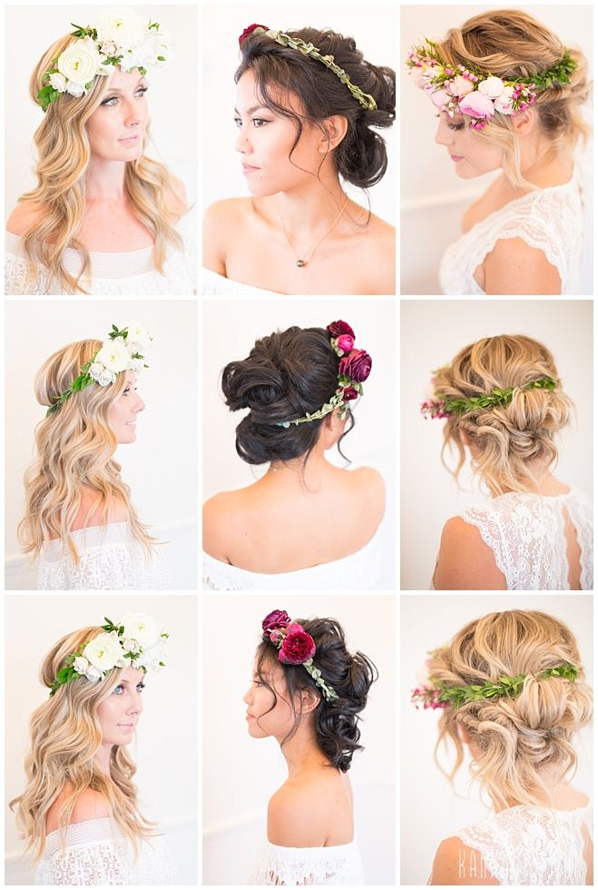 17 best Bridal Hair Inspiration images on Pinterest | Bridal hair ...