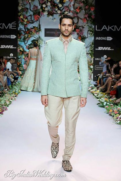 Shyamal & Bhumika designer wear for men