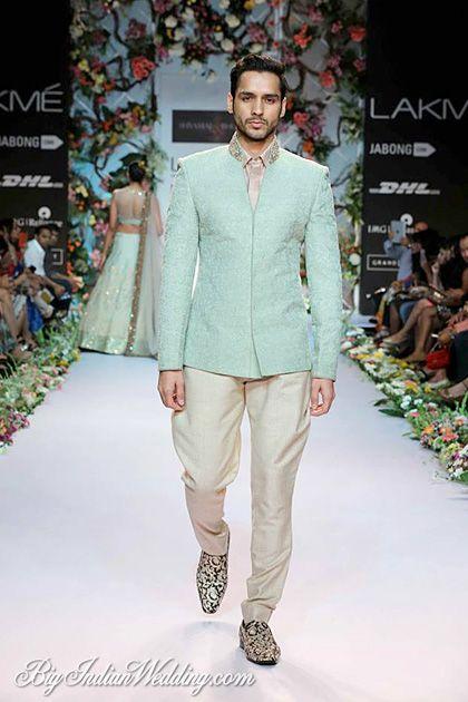 Shyamal & Bhumika designer wear for men