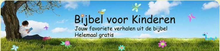 Bijbel voor kinderen. 60 gratis bijbelverhalen, met illustraties die je ook kunt inkleuren.