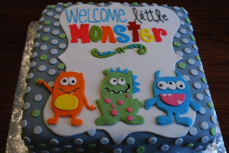Image detail for -Little Monster Baby Shower | Musical Soup Eaters