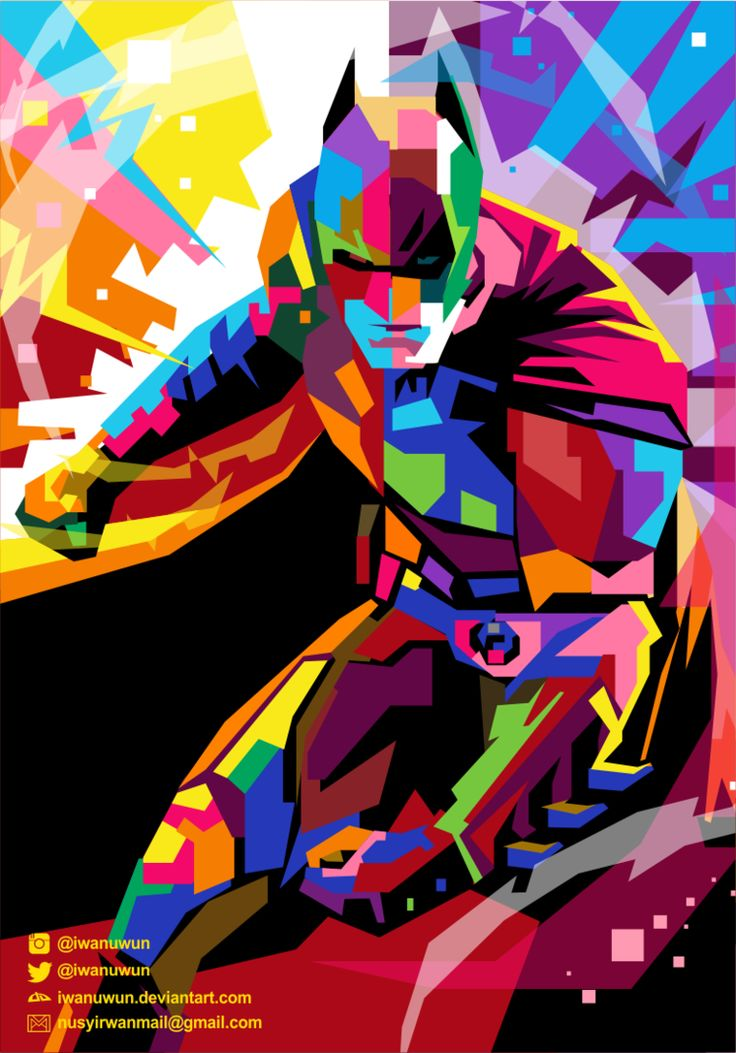 Batman on WPAP. by iwanuwun