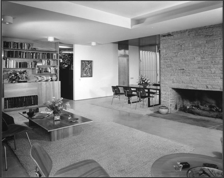 Richard Neutra, Kauffman House, 1946, Photography by Julius Schulman