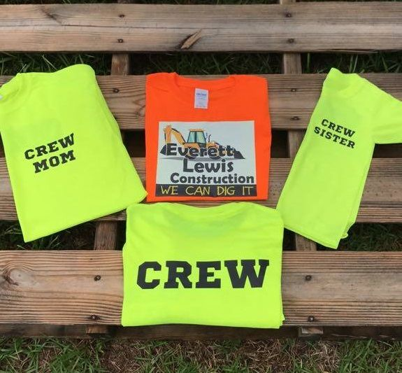Party Shirts By: Sweet Southern Creation on Facebook , Instagram @sweet_southern_creations