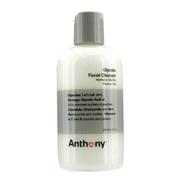 Anthony - Logistics For Men Гликолевое Очищающее Средство для Лица 237ml/8oz