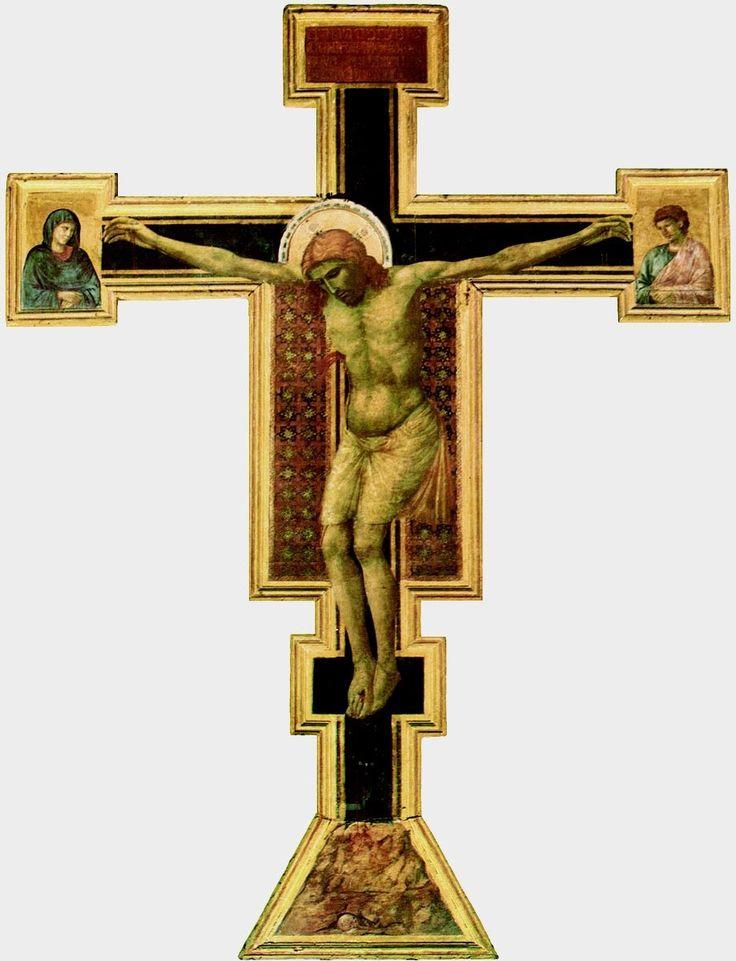 Art'esplorando: Crocifissione di Giotto: la nascita della lingua p...