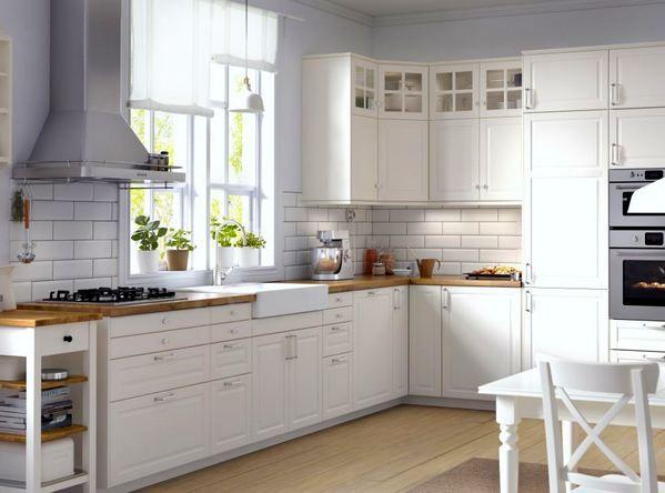 35 best Cuisine images on Pinterest Kitchen white, Kitchen small - küche ikea landhaus