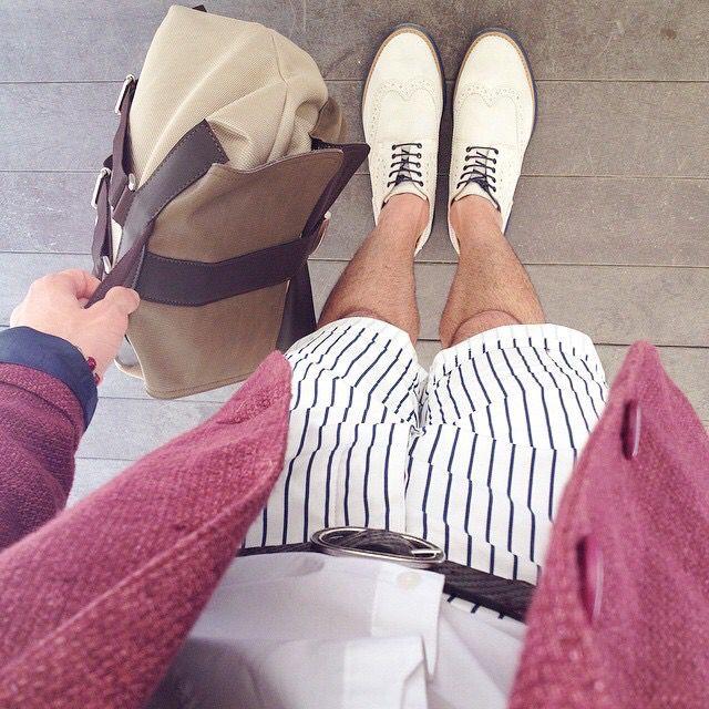 A͟N͟C͟H͟E͟ P͟E͟R͟ Q͟U͟E͟S͟T͟A͟ G͟I͟O͟R͟N͟A͟T͟A͟ #pitti il #fashionblogger @corvus88 ha scelto di vestire con un nostro #outfit  #grazie #mille  #ss15 #primoemporio #ootd #@ #firenze #moda #fashion #blogger #italia #expo #menswear #menswear #style #ootd #bags #bologna #napoli #capurso #bari #weddingday
