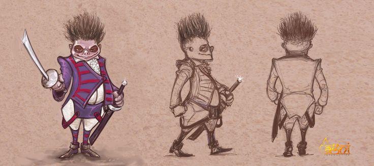 Character sketch, Sudhanshu Pandey on ArtStation at https://www.artstation.com/artwork/1w8Dq