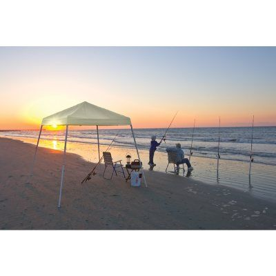 Pop-up Canopy, White Cover, Carry Bag 8x8 SL #Canopies #ShadingCooling #CozyDays