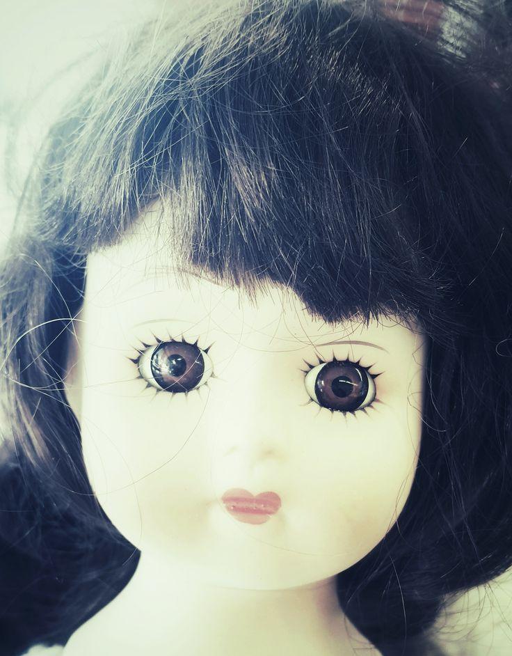 'Karen', Charity shop doll.