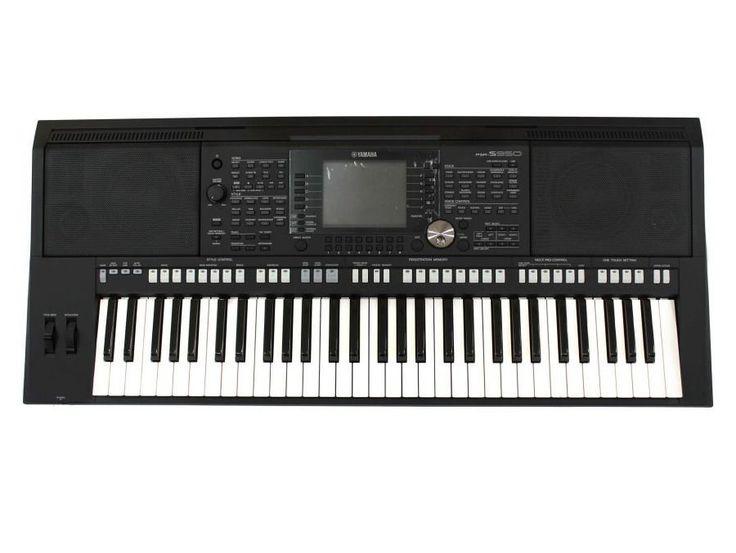 Yamaha Keyboard PSR-S950 in black. http://www.zocko.com/z/JJs2l