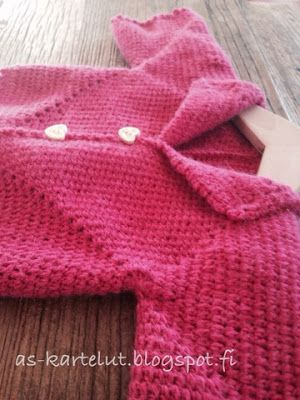 AS-kartelut: Villatakki 6-kulmioista #crochet