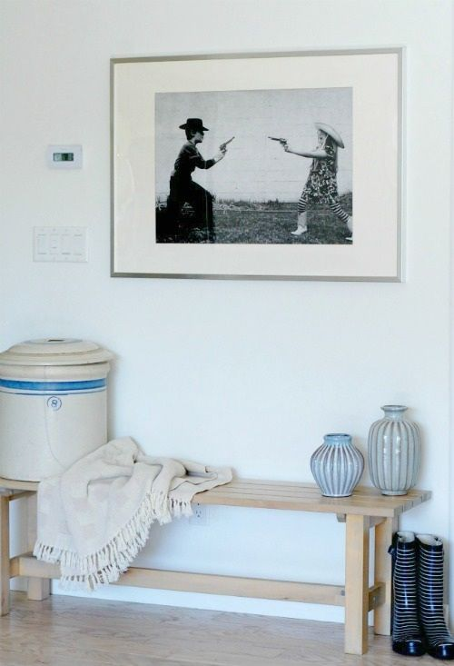 Love this....: Kids Plays, Entryway Ideas, Fun Photo, Photo Ideas, Ikea Bench, Ideal Home Entryway, Large Photo