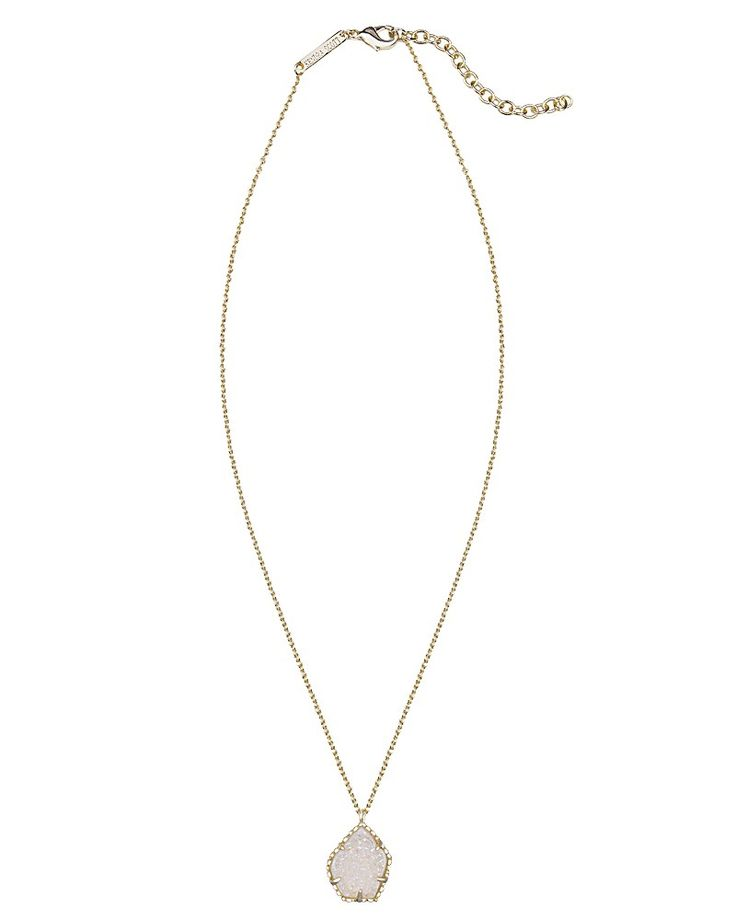 Kendra Scott Catherine Necklace in Iridescent Drusy - I just got this & it's gorgeous!!!