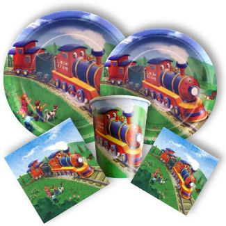 Train Party Supplies, Clickety Clack Party Supplies: Discount Party Supplies