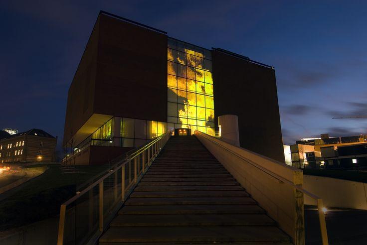 Aarhus Kunstmuseum on Fire