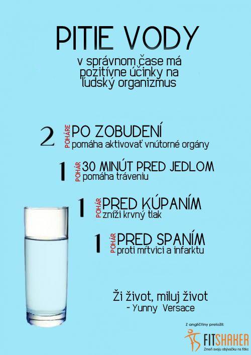 Dodržuješ pitný režim?