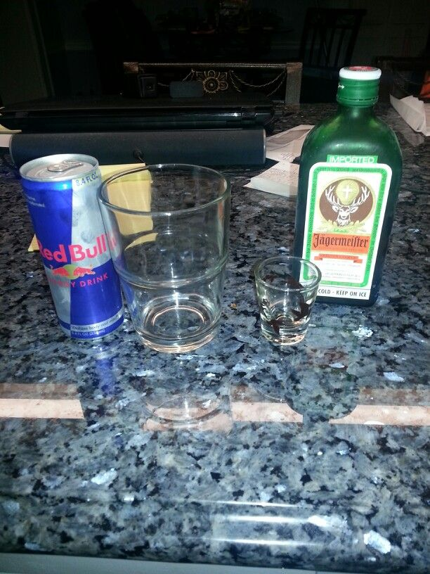 Been craving some jager bombs