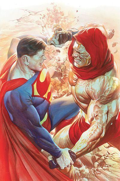 Superman vs. Atlas de Alex Ross.