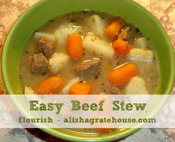 how to make easy beef stew on the stove