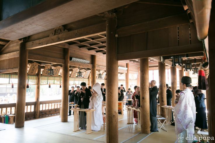 愛知*国府宮神社での神前式 | *elle pupa blog*