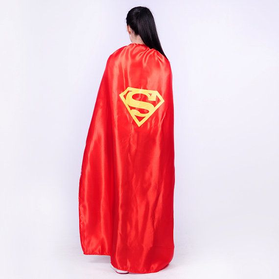 140cm Adult Superhero Cape for man women girls Costume by KidsCape