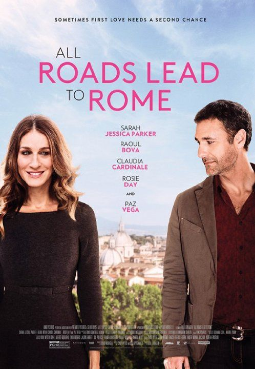 Sarah Jessica Parker and Raoul Bova in All Roads Lead to Rome (2015)