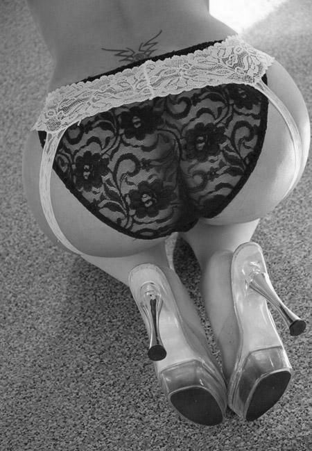 """""""Take Your Pleasure Seriously"""" Mr.Feelgood.2 -Black&White: Girls, Sexy, Lingerie, Panties, Butt, Ass, Black, Garter Belts"""