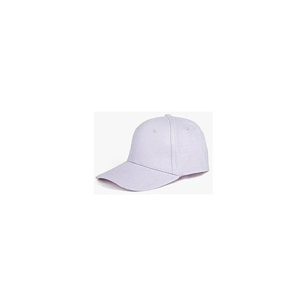 Boohoo Tilly Basic Baseball Cap | Boohoo (9.42 CAD) ❤ liked on Polyvore featuring accessories, hats, beanie hat, fedora hat, fedora baseball cap, beanie caps and strap hats