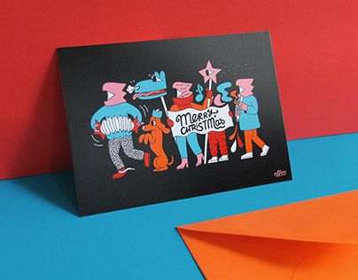 "Check out new work on my @Behance portfolio: ""Christmas postcards"" http://be.net/gallery/44718381/Christmas-postcards"