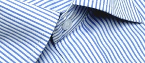 Full sleeve formal shirt with georgeous sky blue pin stripes and a front pocket. Designed for high-ranking corporates, this shirt is the perfect combination of understated calm and authority. Wear it to formal functions by itself or under a suit.     Style with:  Most black and blue trousers. Wear with darker denims under a blazer for evening functions.