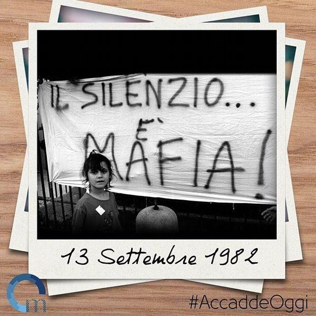 #13settembre 1982: l'associazione mafiosa diventa reato