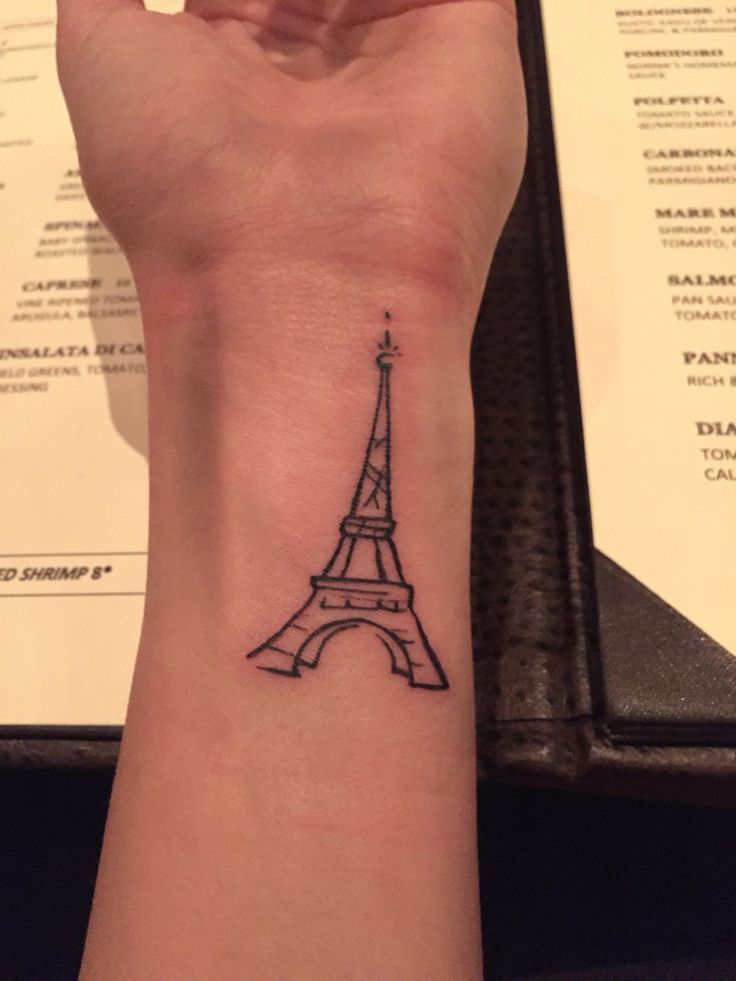New Eiffel Tower tattoo!