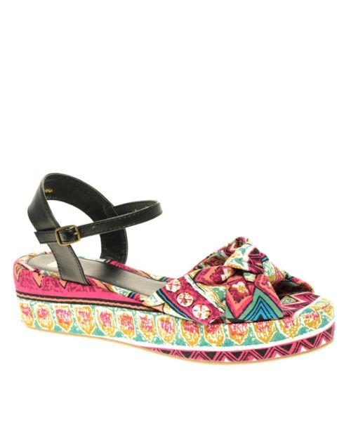 :): Fashion, Summer Sandals, Asos Knot, Asos Shoes, Knot Front, Asos Vezza, Platform Shoes, Vezza Knot, Front Flatform