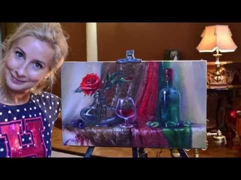 Часть 1. Изображение ткани и драпировки. Ольга Базанова - YouTube