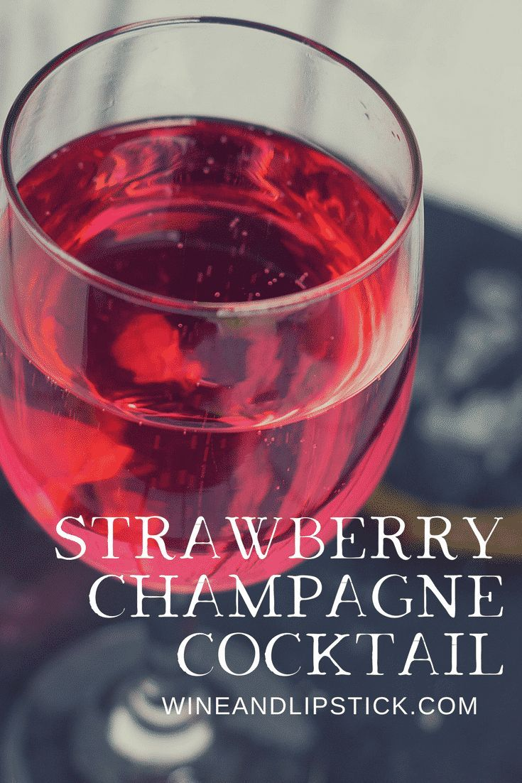 The Dating Game With A Strawberry Champagne Cocktail Wine And Strawberry Champagne Cocktail Champagne Cocktail Drinks Alcohol Recipes