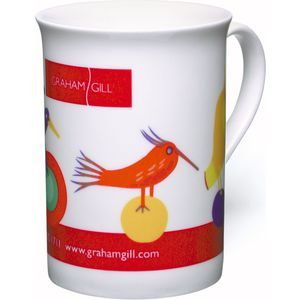 Duraglaze Bone China Windsor PhotoMug  Delicate bone china mug printed by dye sublimation for stunning photo' quality image. Our Duraglaze PhotoMugs are the only 100% dishwasher proof sublimation mugs in Europe; independently tested to over 1,000 washes! This gives you double the value of the nearest alternative and will last ten times as long as most other PhotoMugs on the market. Features a large branding area for your promotional message.  Promotional products Mugs