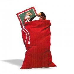 Santa / Grinch Toy Sack