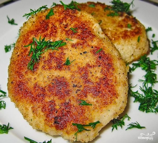Рецепт котлеты из цветной капусты с сыром