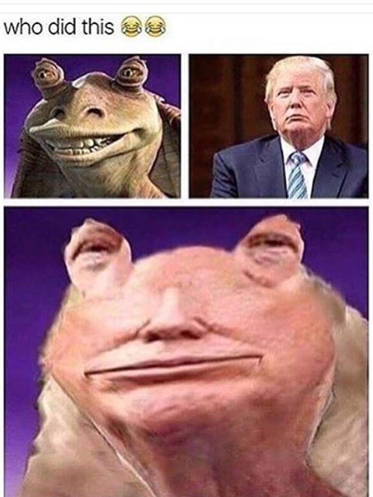 Jar Jar Binks > Donald Trump 'Meesa not voting for you'