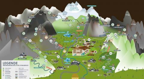 Die Stubaierhof Bergsportwelt für Ihre Abenteuer in den Bergen des Stubaitals